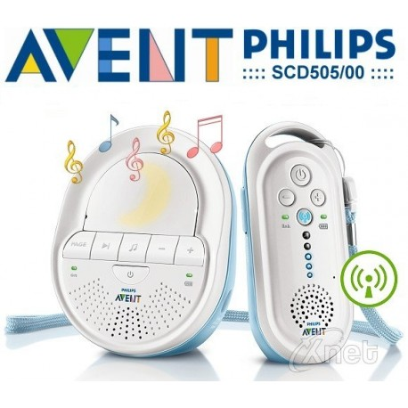 Philips Avent Dect-Babyvakt SCD505