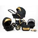 Gold Lux Barnvagn