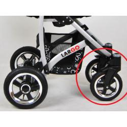 Fram OMEGA lufhjul till LARGO / QBARO barnvagn
