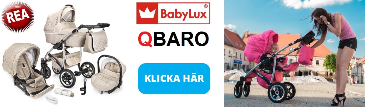 Qbaro barnvagn